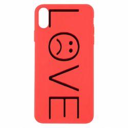 Чохол для iPhone X/Xs lil peep: love