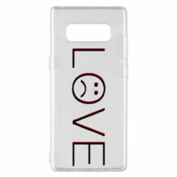 Чохол для Samsung Note 8 lil peep: love