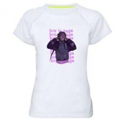 Жіноча спортивна футболка Lil Uzi Vert