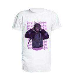 Подовжена футболка Lil Uzi Vert