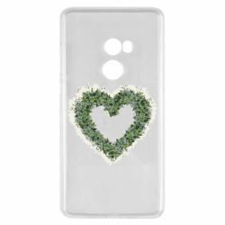 Чехол для Xiaomi Mi Mix 2 Lilies of the valley in the shape of a heart
