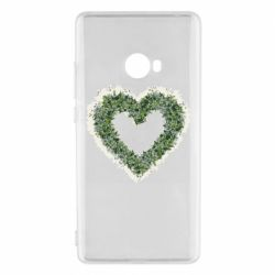 Чехол для Xiaomi Mi Note 2 Lilies of the valley in the shape of a heart