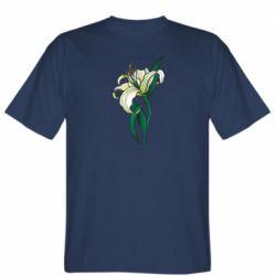 Чоловіча футболка Lily flower