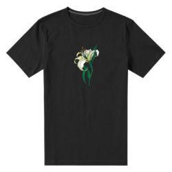 Чоловіча стрейчева футболка Lily flower