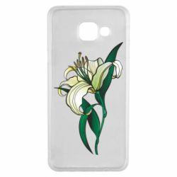 Чохол для Samsung A3 2016 Lily flower