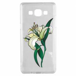 Чохол для Samsung A5 2015 Lily flower