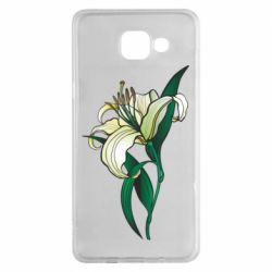 Чохол для Samsung A5 2016 Lily flower