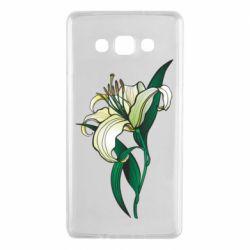 Чохол для Samsung A7 2015 Lily flower