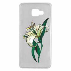 Чохол для Samsung A7 2016 Lily flower