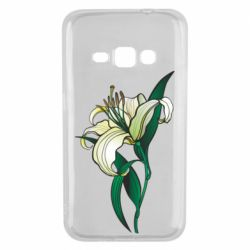 Чохол для Samsung J1 2016 Lily flower