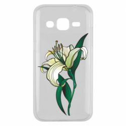 Чохол для Samsung J2 2015 Lily flower