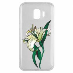 Чохол для Samsung J2 2018 Lily flower