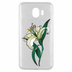 Чохол для Samsung J4 Lily flower
