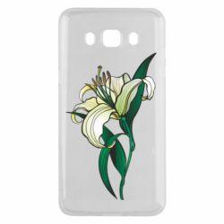 Чохол для Samsung J5 2016 Lily flower