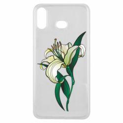Чохол для Samsung A6s Lily flower