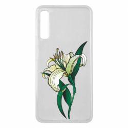 Чохол для Samsung A7 2018 Lily flower