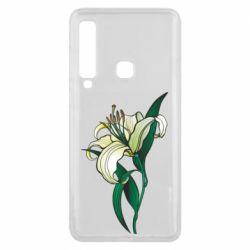 Чохол для Samsung A9 2018 Lily flower