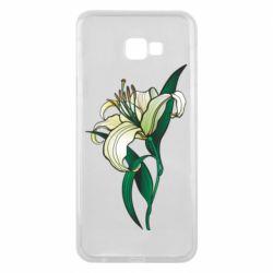 Чохол для Samsung J4 Plus 2018 Lily flower