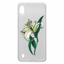 Чохол для Samsung A10 Lily flower