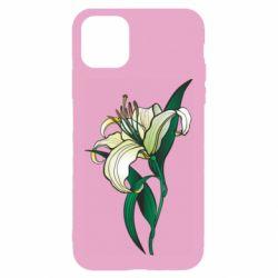 Чохол для iPhone 11 Lily flower