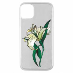 Чохол для iPhone 11 Pro Lily flower
