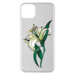 Чохол для iPhone 11 Pro Max Lily flower