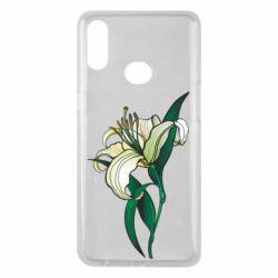Чохол для Samsung A10s Lily flower