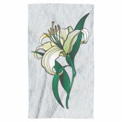 Рушник Lily flower