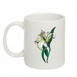 Кружка 320ml Lily flower