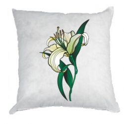 Подушка Lily flower
