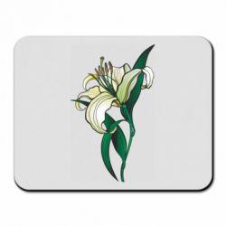 Килимок для миші Lily flower