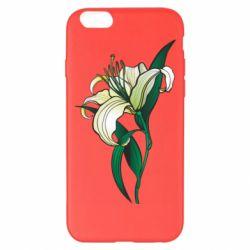 Чохол для iPhone 6 Plus/6S Plus Lily flower