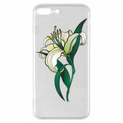 Чохол для iPhone 7 Plus Lily flower