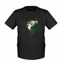 Дитяча футболка Lily flower