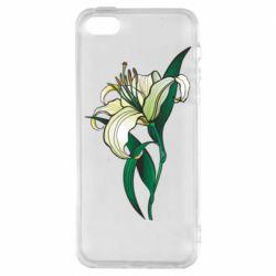 Чохол для iPhone 5 Lily flower