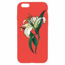 Чохол для iPhone 6 Lily flower