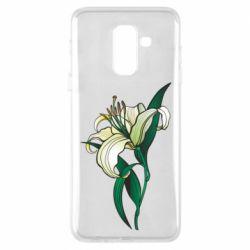 Чохол для Samsung A6+ 2018 Lily flower