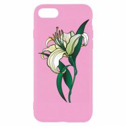 Чохол для iPhone 8 Lily flower