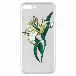 Чохол для iPhone 8 Plus Lily flower