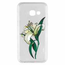 Чохол для Samsung A3 2017 Lily flower