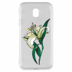 Чохол для Samsung J3 2017 Lily flower