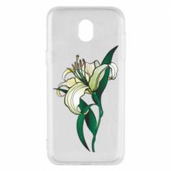 Чохол для Samsung J5 2017 Lily flower