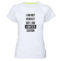 Жіноча спортивна футболка Limited edition