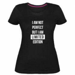 Жіноча стрейчева футболка Limited edition