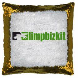 Подушка-хамелеон Limp Bizkit