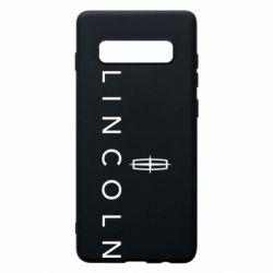 Чехол для Samsung S10+ Lincoln logo