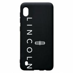 Чехол для Samsung A10 Lincoln logo