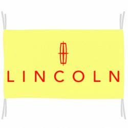 Флаг Lincoln logo