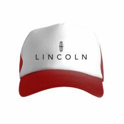 Детская кепка-тракер Lincoln logo