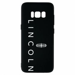 Чехол для Samsung S8 Lincoln logo